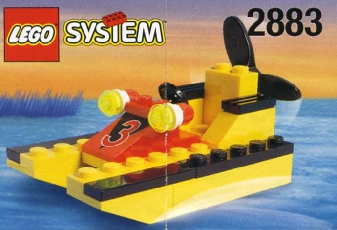Как сделать из лего маленькую лодку из лего