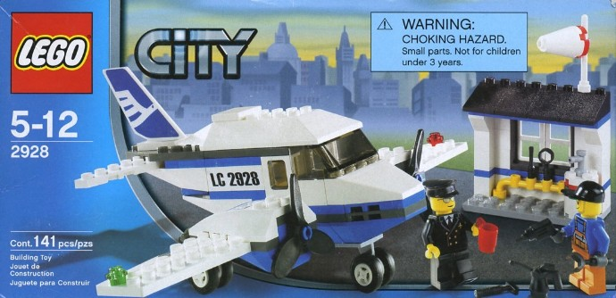LEGO City Airport Review : LEGO 7894 - YouTube