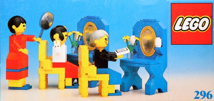 Lego 296 Ladies' Hairdressers image
