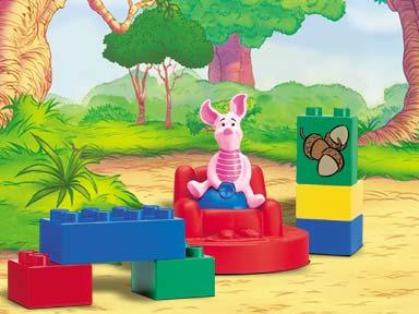 Изображение набора Лего 2976 Acorn Adventure with Piglet