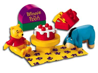 Lego 2982 Pooh's Birthday image