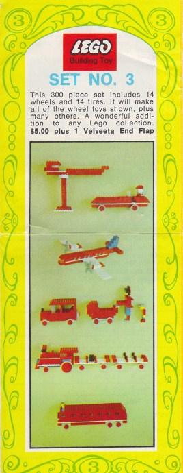 Lego 3 Promotional Set No. 3 (Kraft Velveeta) image