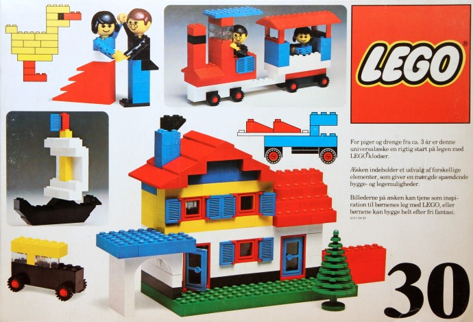 Lego 30 Basic Building Set, 3+ image