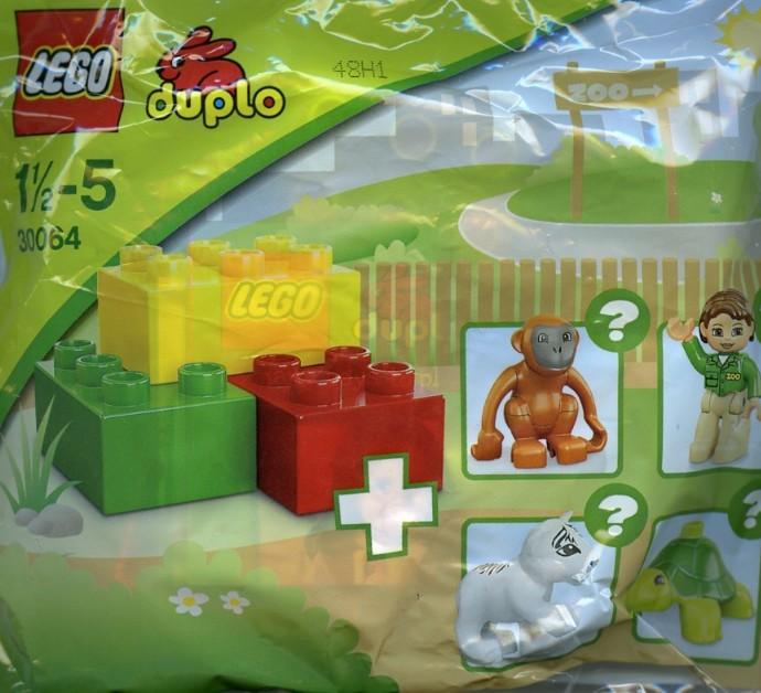 Lego 30064 Zoo - Tiger Cub image