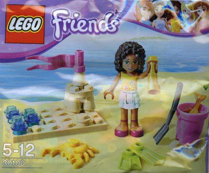 30100 1 Beach Brickset Lego Set Guide And Database