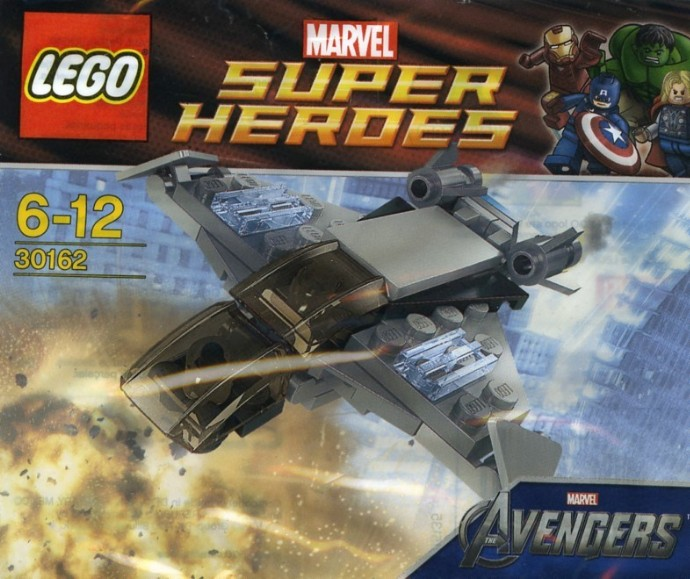 30162-1: Quinjet | Brickset: LEGO set guide and database