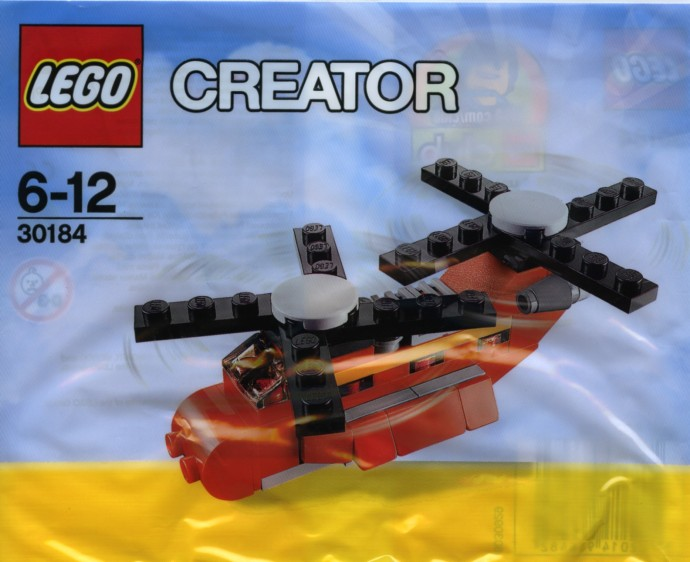 Lego 30184 Little Helicopter image