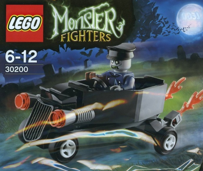 Car Auction Apps >> 30200-1: Zombie chauffeur coffin car | Brickset: LEGO set guide and database