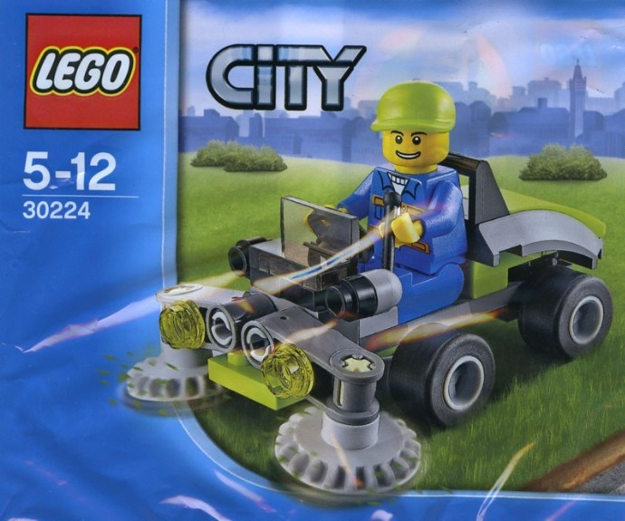 30224 1 Ride On Lawn Mower Brickset Lego Set Guide And