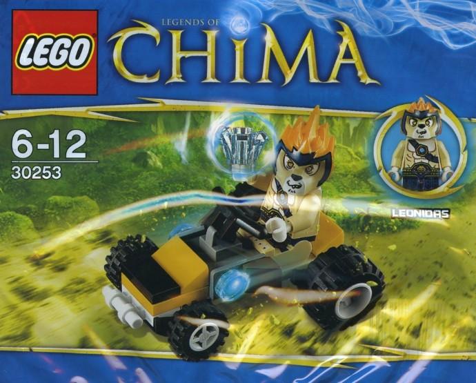 Lego Chima Polybag Set # 30253 Leonidas Jungle Dragster
