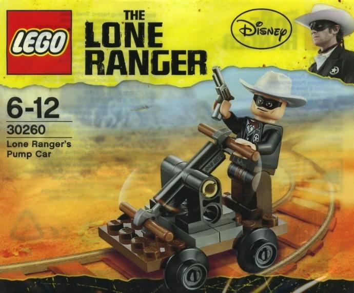 Car Auction Apps >> 30260-1: Lone Ranger's Pump Car | Brickset: LEGO set guide and database
