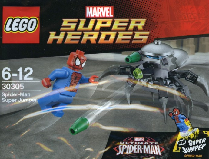 New Spider-Man polybag uncovered | Brickset: LEGO set guide and database