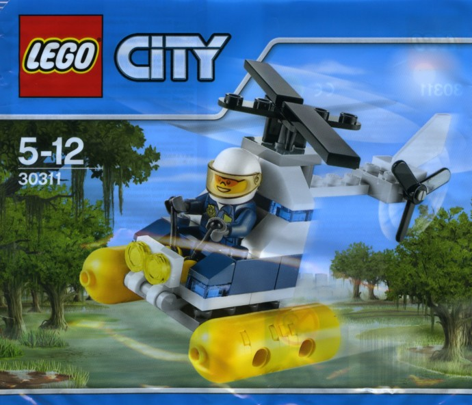 30311 1 Swamp Police Helicopter Brickset Lego Set Guide And Database