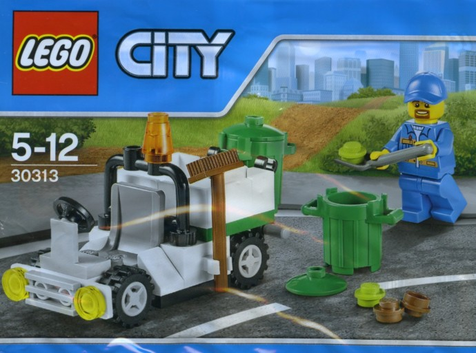 30313-1: Garbage Truck | Brickset: LEGO set guide and database