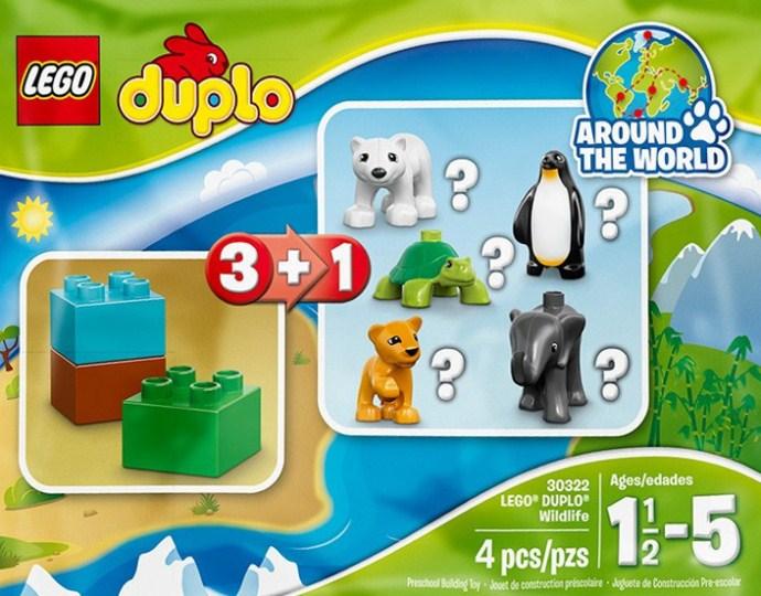 Изображение набора Лего 30322 Wildlife - Polar Bear