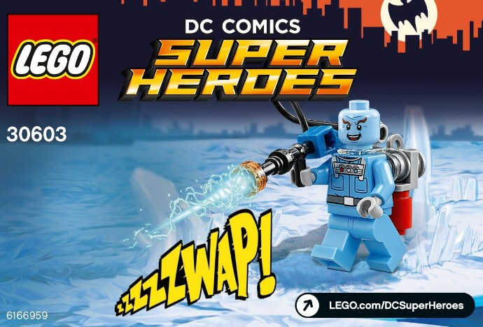 how to break free of mr freezes ice lego batman