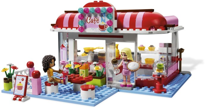 Friends brickset lego set guide and database - Lego brick caravan a record built piece by piece ...