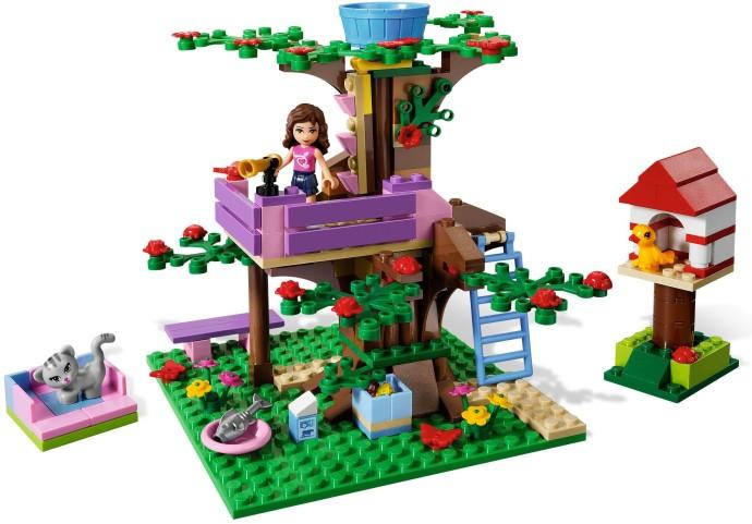 3065 1 Olivias Tree House Brickset Lego Set Guide And Database