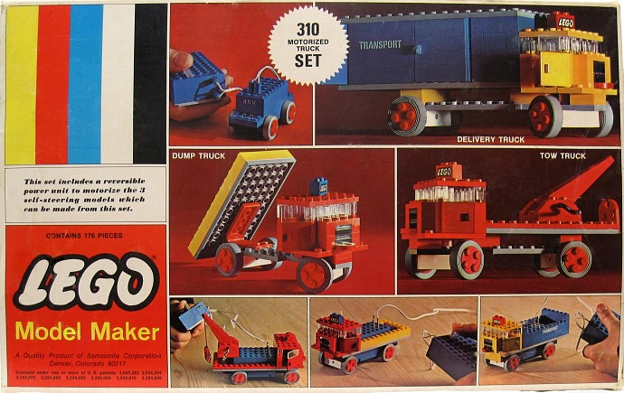 Изображение набора Лего 310 Motorized Truck Set