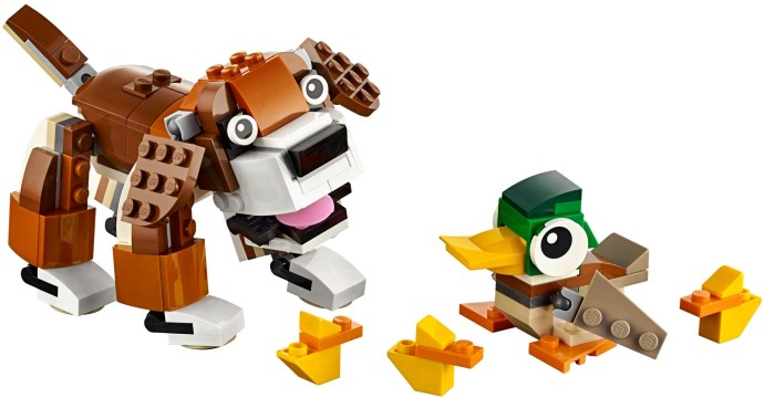 31044 1 Park Animals Brickset Lego Set Guide And Database