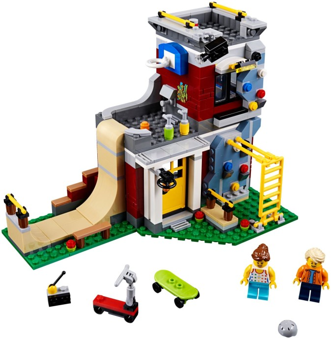 31081 Modular Skate House
