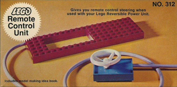 Lego 312 Remote Control Supplement image