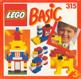 Lego 315 Basic Building Set, 3+ image