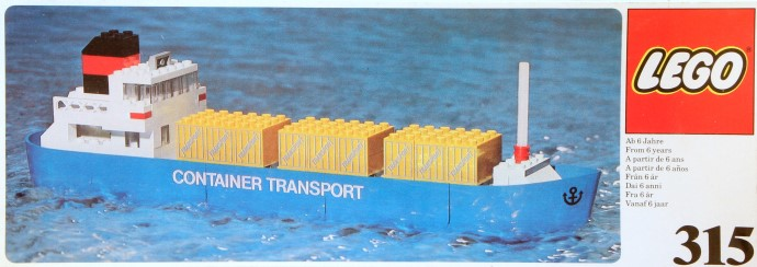 Lego 315 Container ship image
