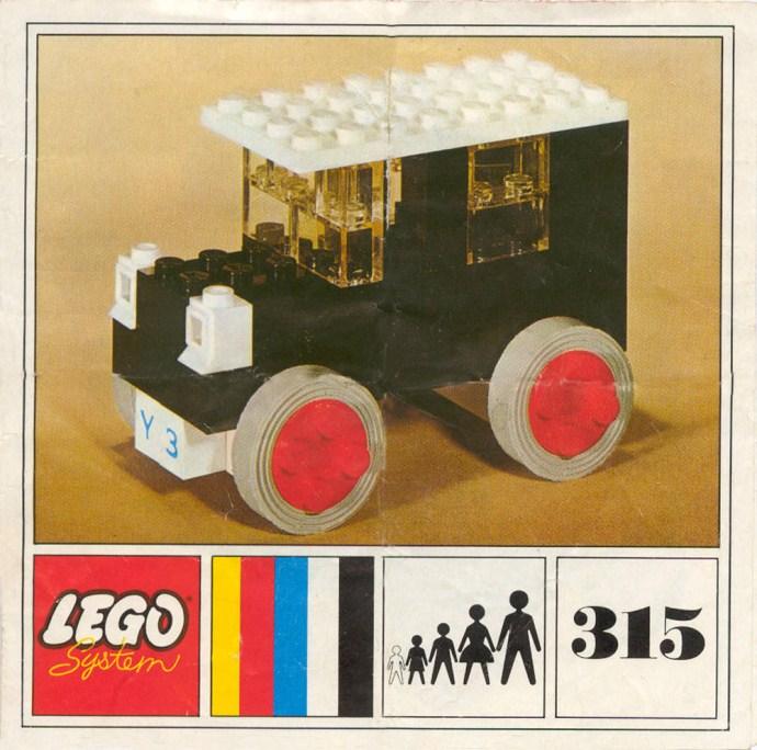 Lego 315 European Taxi image