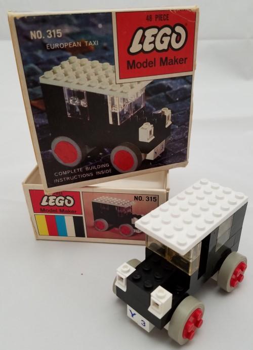 Изображение набора Лего 315 European Taxi