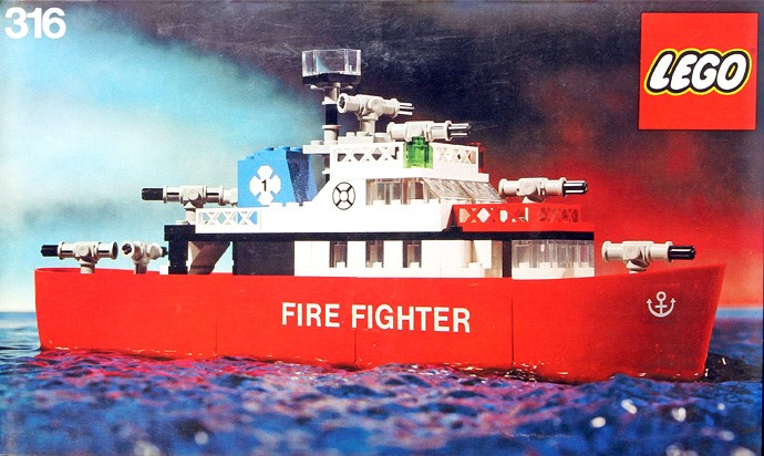 Lego 316 Fire Fighting Launch image