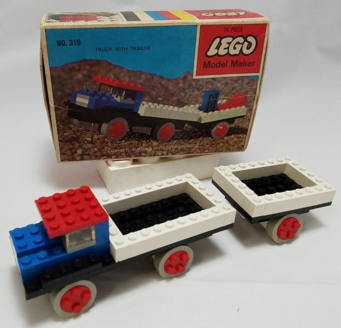 Изображение набора Лего 319 Truck with Trailer