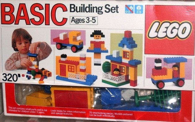 Lego 320 Basic Building Set, 3+ image