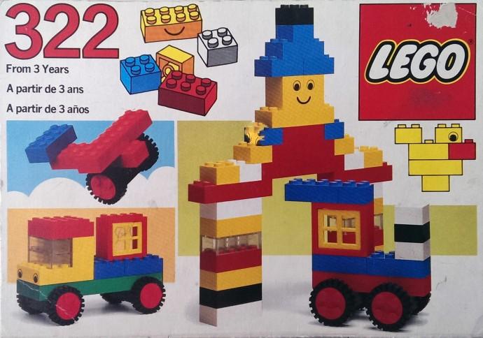 Изображение набора Лего 322 Basic Set