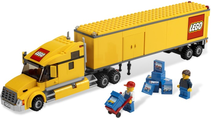 3221 1 lego city truck brickset lego set guide and database. Black Bedroom Furniture Sets. Home Design Ideas