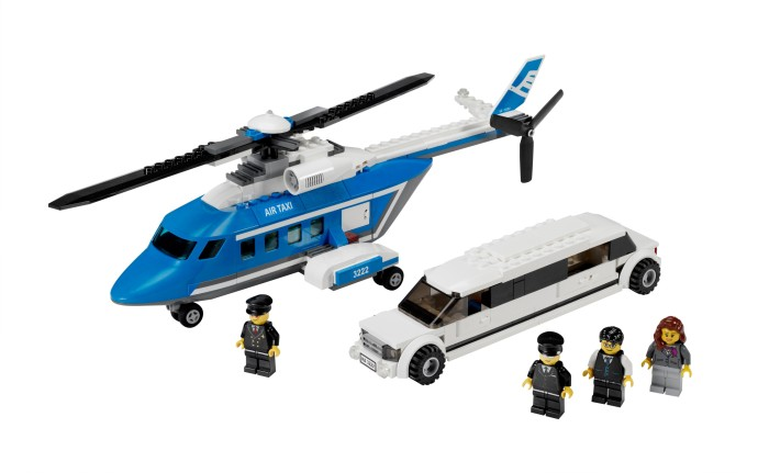 3222 1 Helicopter And Limousine Brickset Lego Set Guide And Database