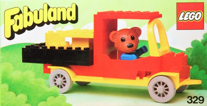 Lego 329 Bernard Bear and his Delivery Lorry image