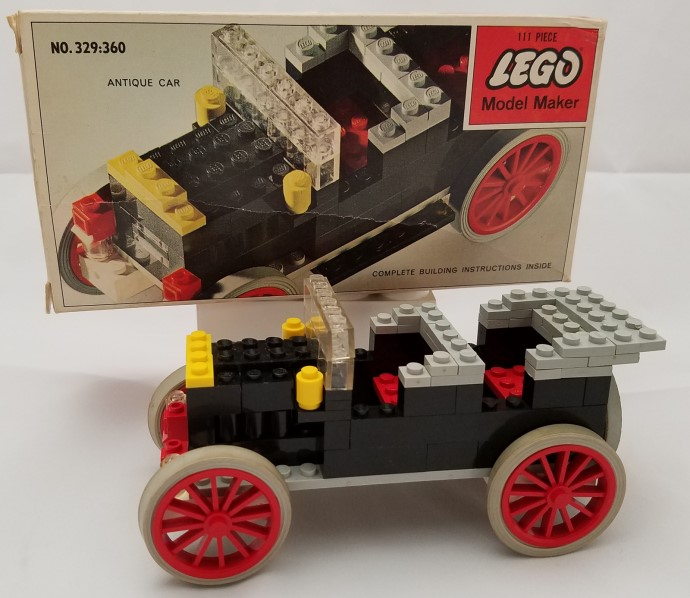 Car Auction Apps >> 329-3: Antique Car | Brickset: LEGO set guide and database
