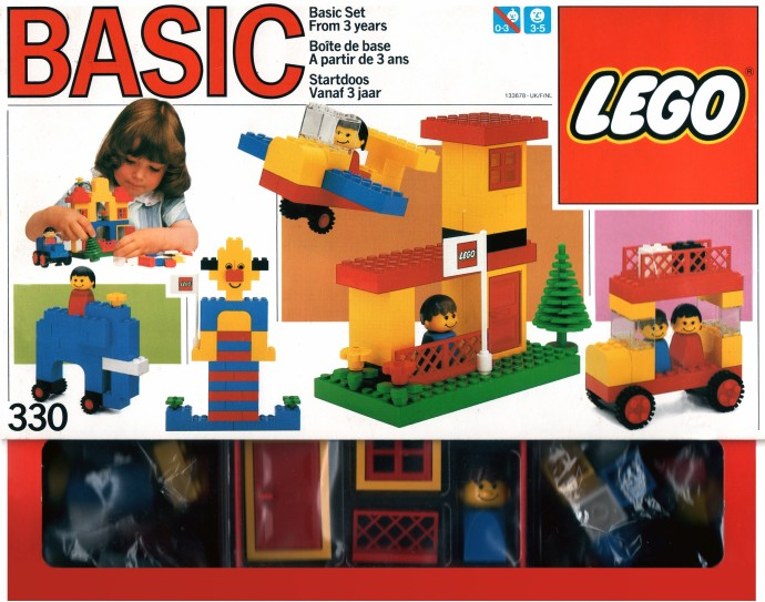 Lego 330 Basic Building Set, 3+ image