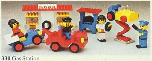 Lego 330 Gas Station image