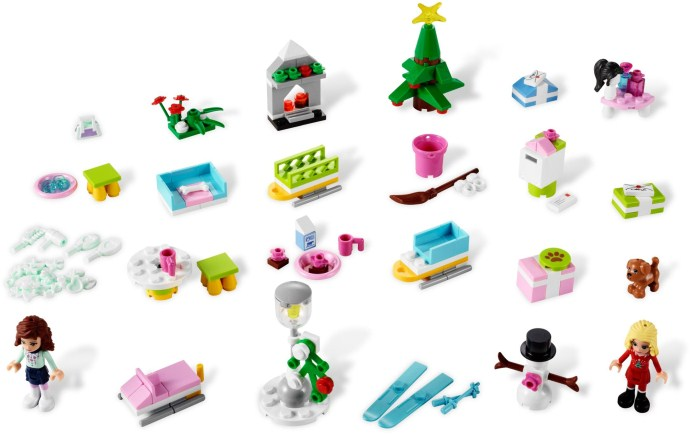 3316: Friends Advent Calendar | Brickset: LEGO set guide and database
