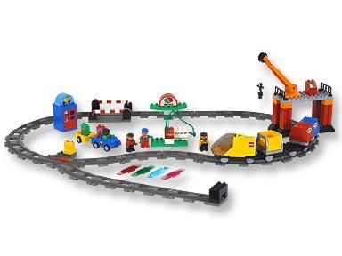 treno duplo lego 3325