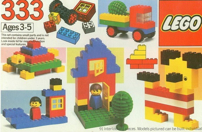 Изображение набора Лего 333 Basic Set