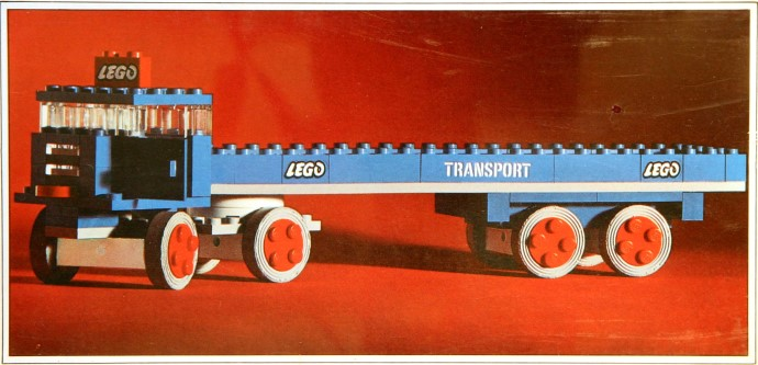 Lego 334 Truck with Flatbed image