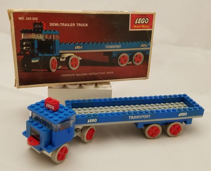 Lego 334 SEMI-Trailer Truck image