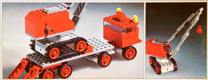 Lego 337 Truck with Crane and Caterpillar Track image