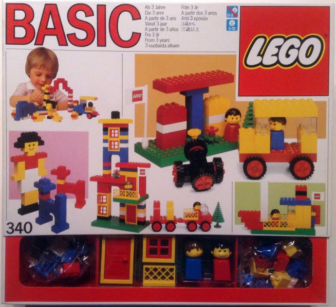 Lego 340 Basic Building Set, 3+ image