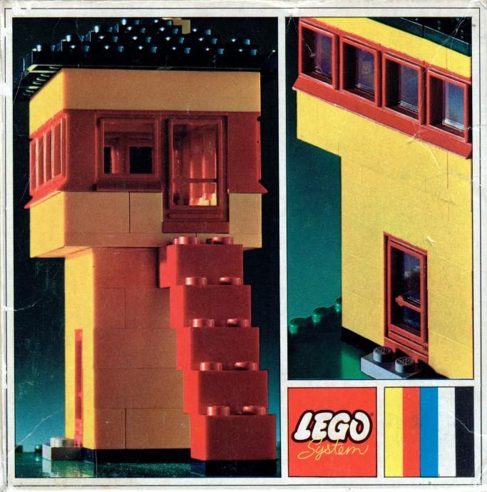 Lego 340 Railroad Control Tower image