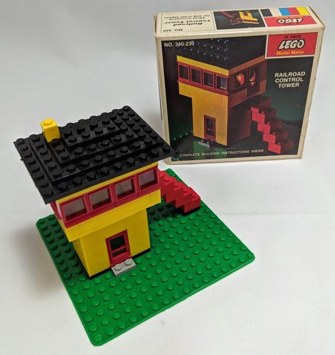 Изображение набора Лего 340 Railroad Control Tower