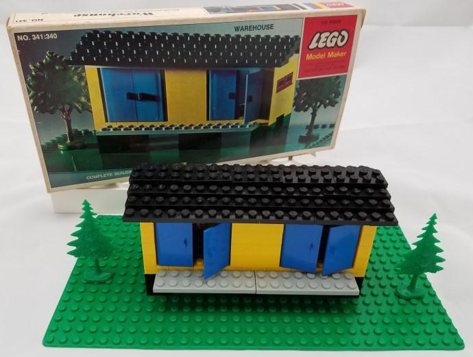 Изображение набора Лего 341 Warehouse